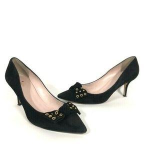 Kate Spade Women's Black Pumps Heels Size 10